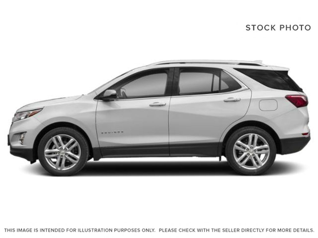 White[Iridescent Pearl Tricoat] 2020 Chevrolet Equinox Premier Left Side Photo in Calgary AB