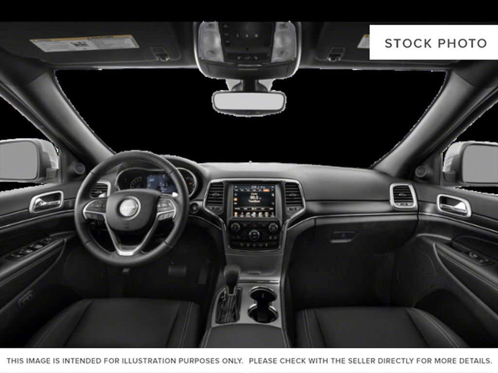 Black[Diamond Black Crystal Pearl] 2020 Jeep Grand Cherokee Central Dash Options Photo in Cold Lake AB