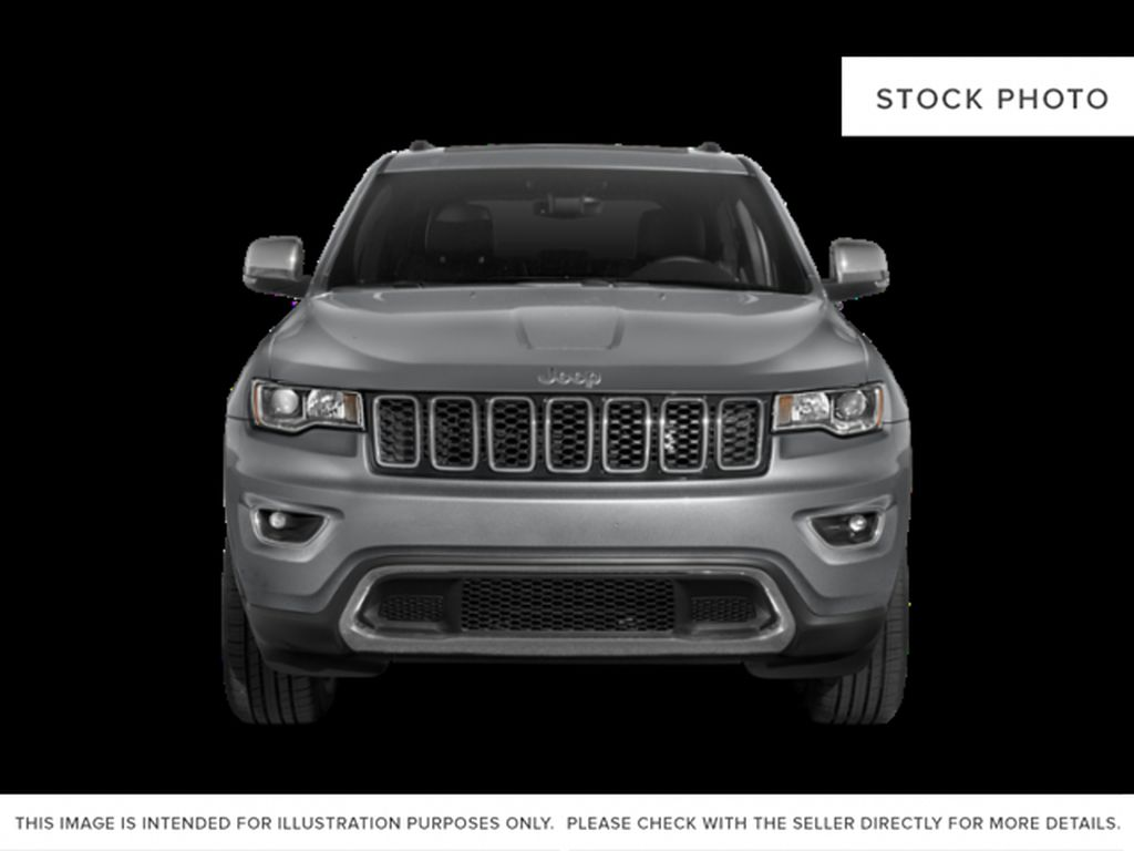 Black[Diamond Black Crystal Pearl] 2020 Jeep Grand Cherokee Front Vehicle Photo in Cold Lake AB
