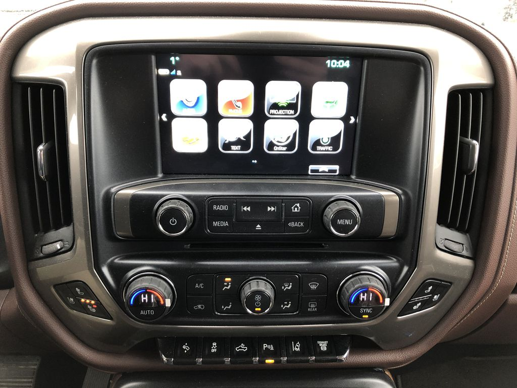Gray[Graphite Metallic] 2019 Chevrolet Silverado 2500HD Central Dash Options Photo in Edmonton AB