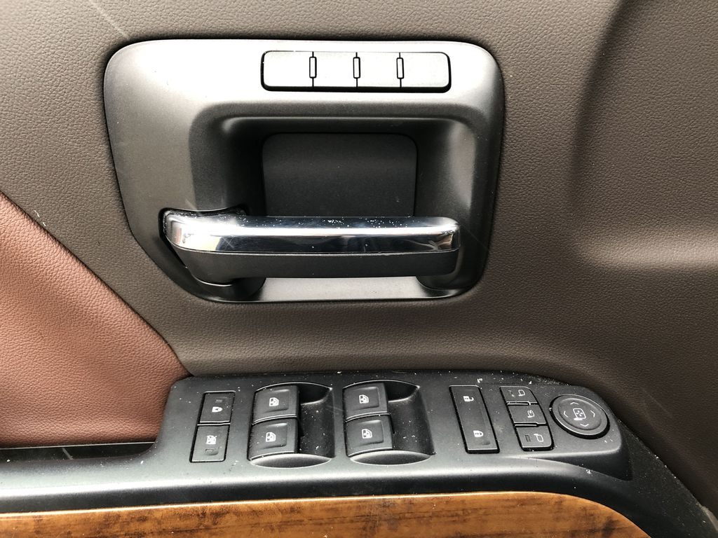 Gray[Graphite Metallic] 2019 Chevrolet Silverado 2500HD  Driver's Side Door Controls Photo in Edmonton AB