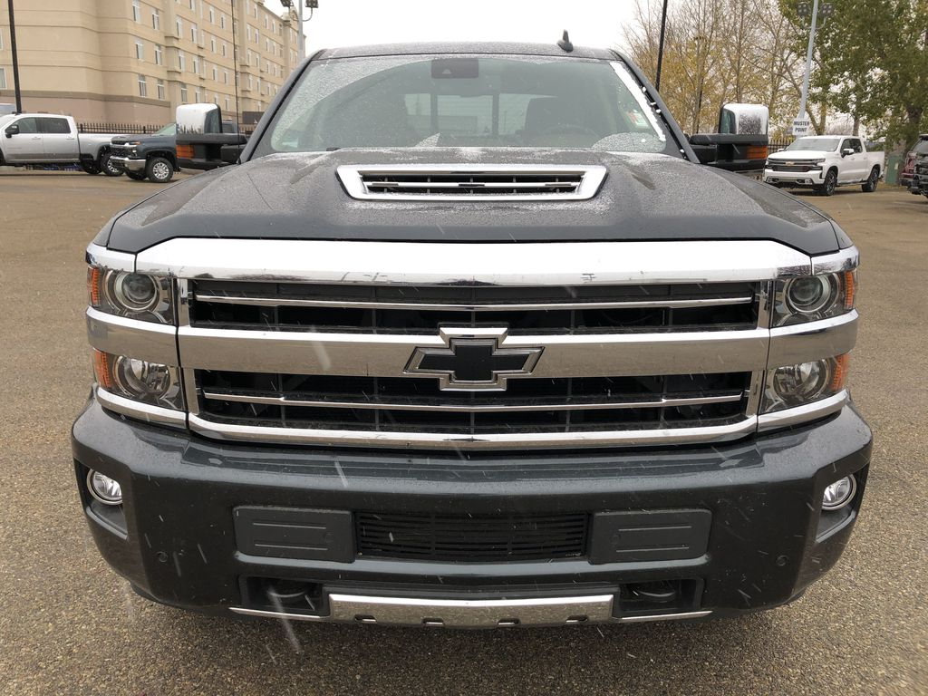 Gray[Graphite Metallic] 2019 Chevrolet Silverado 2500HD Front Vehicle Photo in Edmonton AB