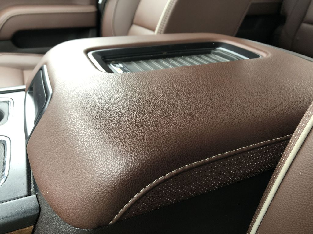 Gray[Graphite Metallic] 2019 Chevrolet Silverado 2500HD Center Console Photo in Edmonton AB