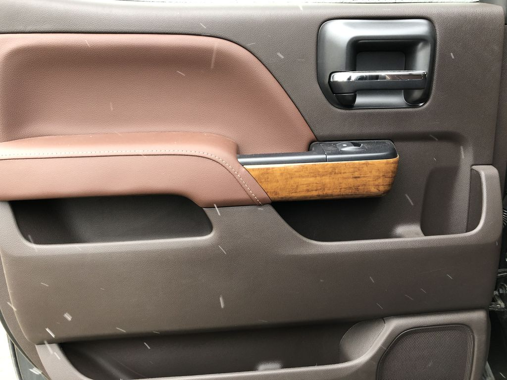 Gray[Graphite Metallic] 2019 Chevrolet Silverado 2500HD Left Rear Interior Door Panel Photo in Edmonton AB