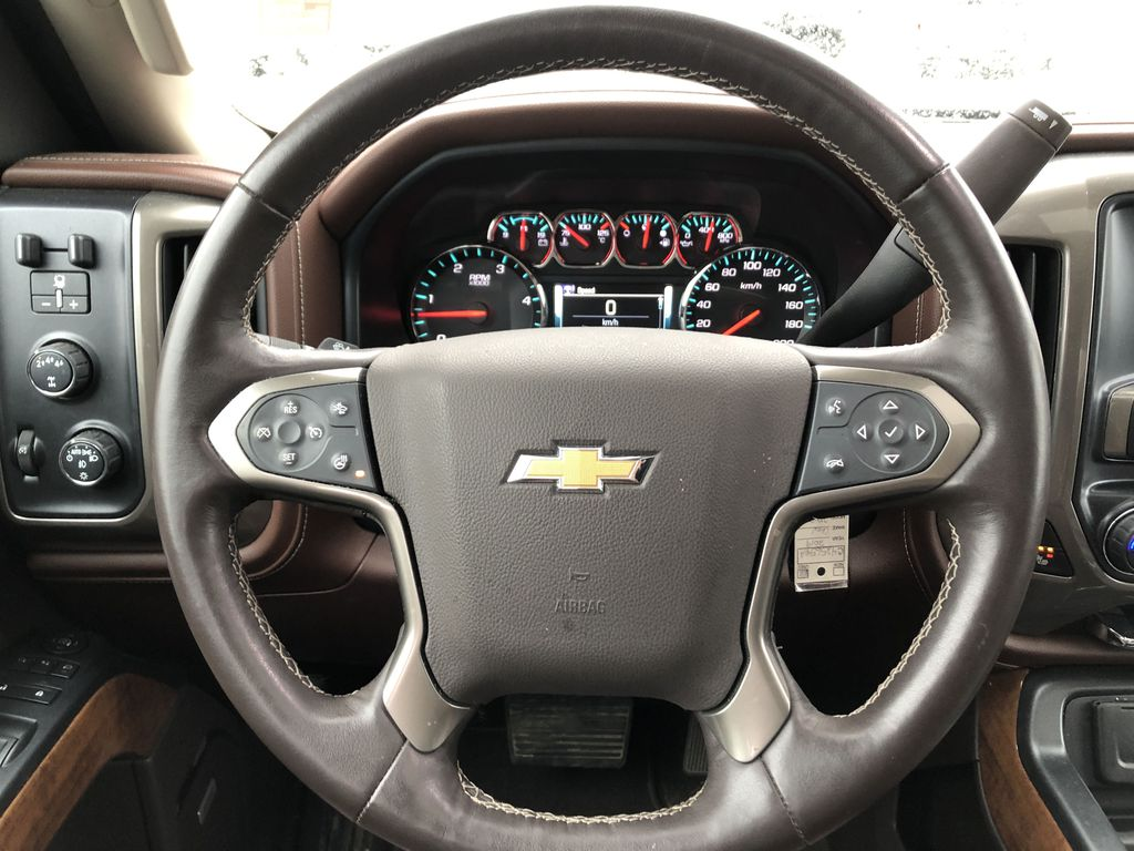 Gray[Graphite Metallic] 2019 Chevrolet Silverado 2500HD Strng Wheel: Frm Rear in Edmonton AB