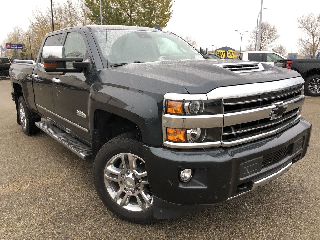 Gray[Graphite Metallic] 2019 Chevrolet Silverado 2500HD