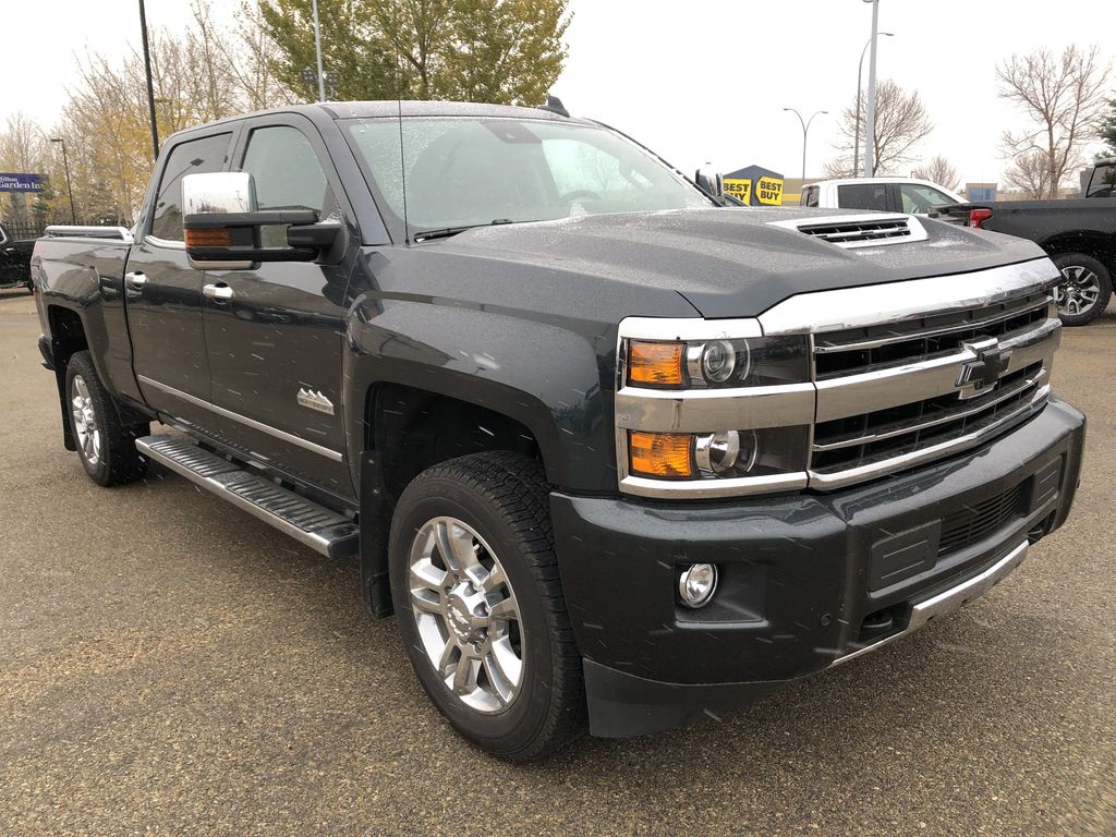 Gray[Graphite Metallic] 2019 Chevrolet Silverado 2500HD Right Front Corner Photo in Edmonton AB