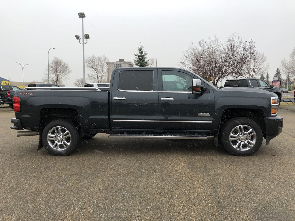 Gray[Graphite Metallic] 2019 Chevrolet Silverado 2500HD Right Side Photo in Edmonton AB