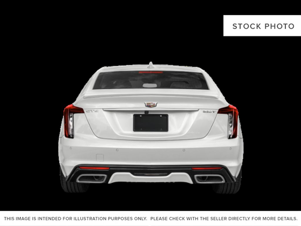Black[Black Raven] 2020 Cadillac CT5 Rear of Vehicle Photo in Edmonton AB