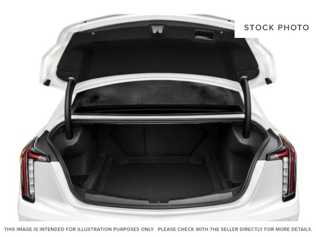 Black[Black Raven] 2020 Cadillac CT5 Trunk / Cargo Area Photo in Edmonton AB