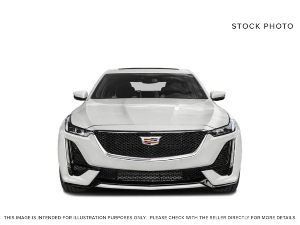 Black[Black Raven] 2020 Cadillac CT5 Front Vehicle Photo in Edmonton AB