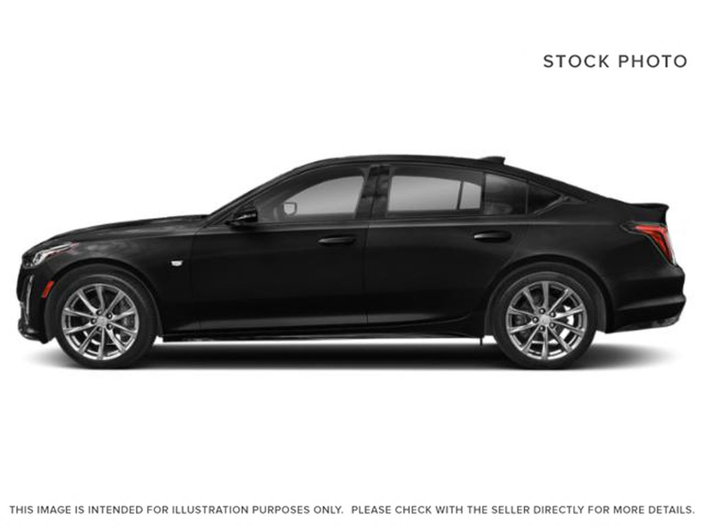 Black[Black Raven] 2020 Cadillac CT5 Left Side Photo in Edmonton AB