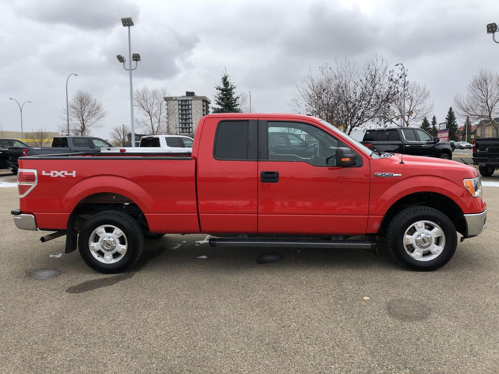 Red[Race Red] 2014 Ford F-150 Right Side Photo in Edmonton AB