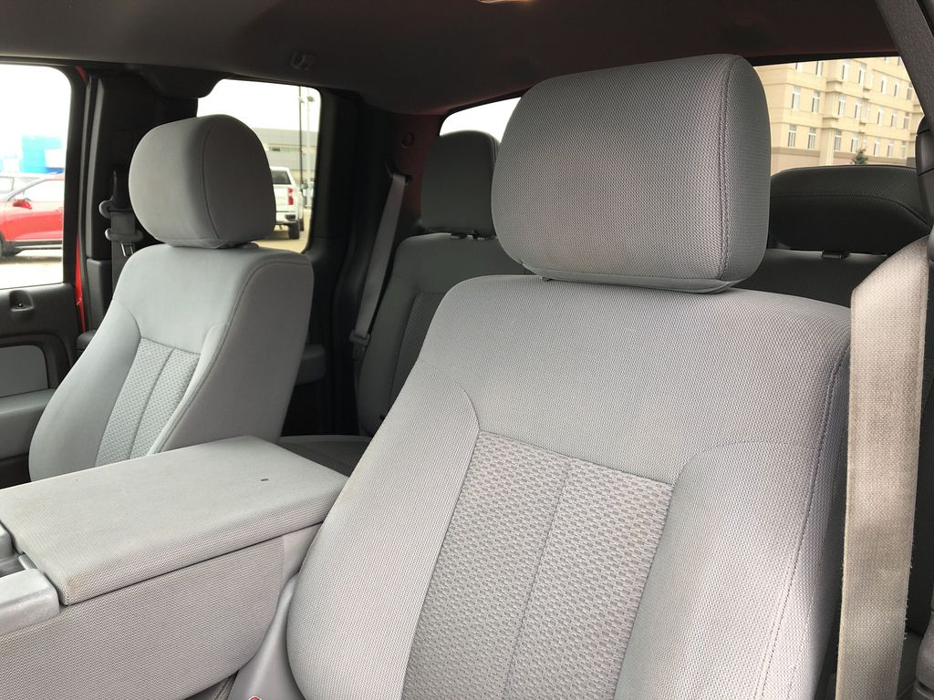 Red[Race Red] 2014 Ford F-150 Left Front Interior Photo in Edmonton AB