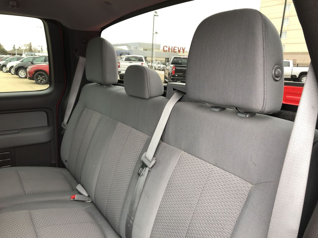 Red[Race Red] 2014 Ford F-150 Left Side Rear Seat  Photo in Edmonton AB