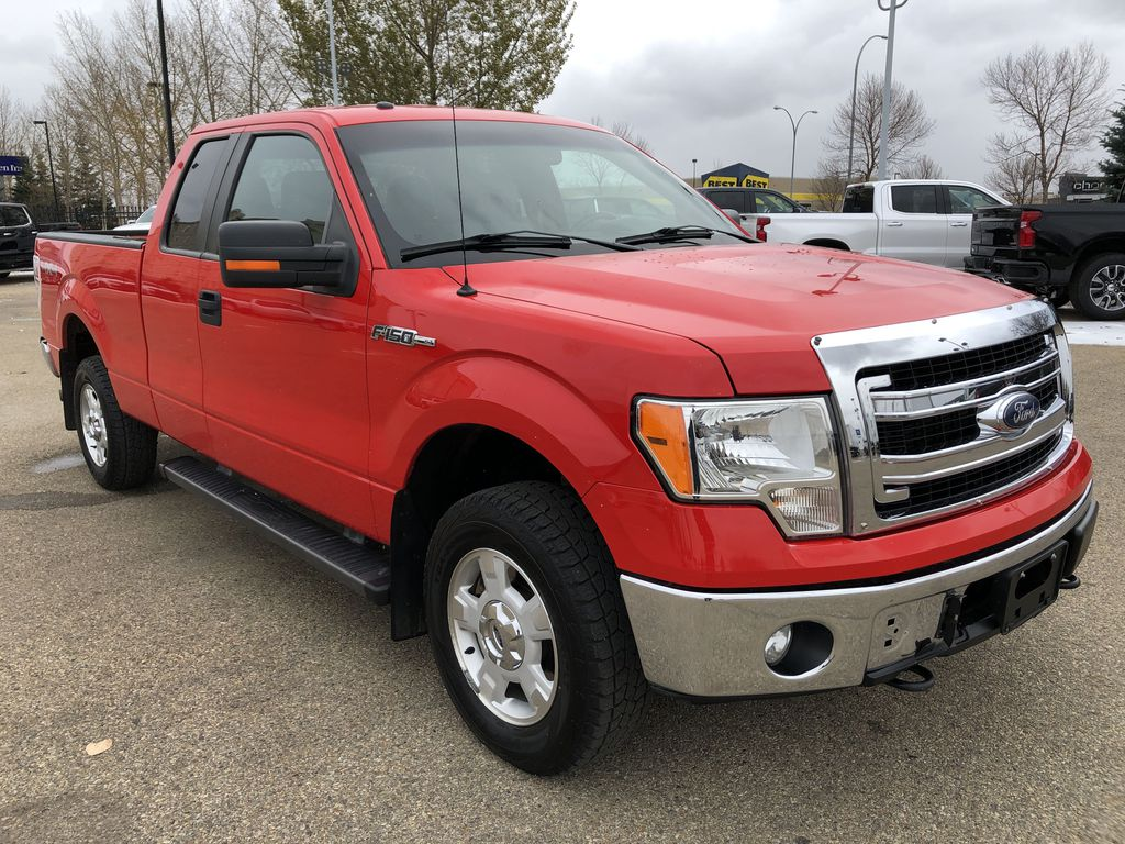 Red[Race Red] 2014 Ford F-150 Right Front Corner Photo in Edmonton AB