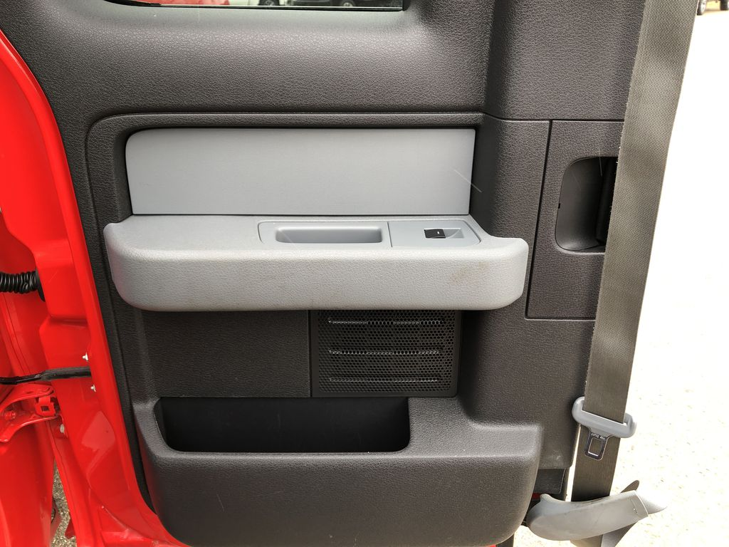 Red[Race Red] 2014 Ford F-150 Left Rear Interior Door Panel Photo in Edmonton AB