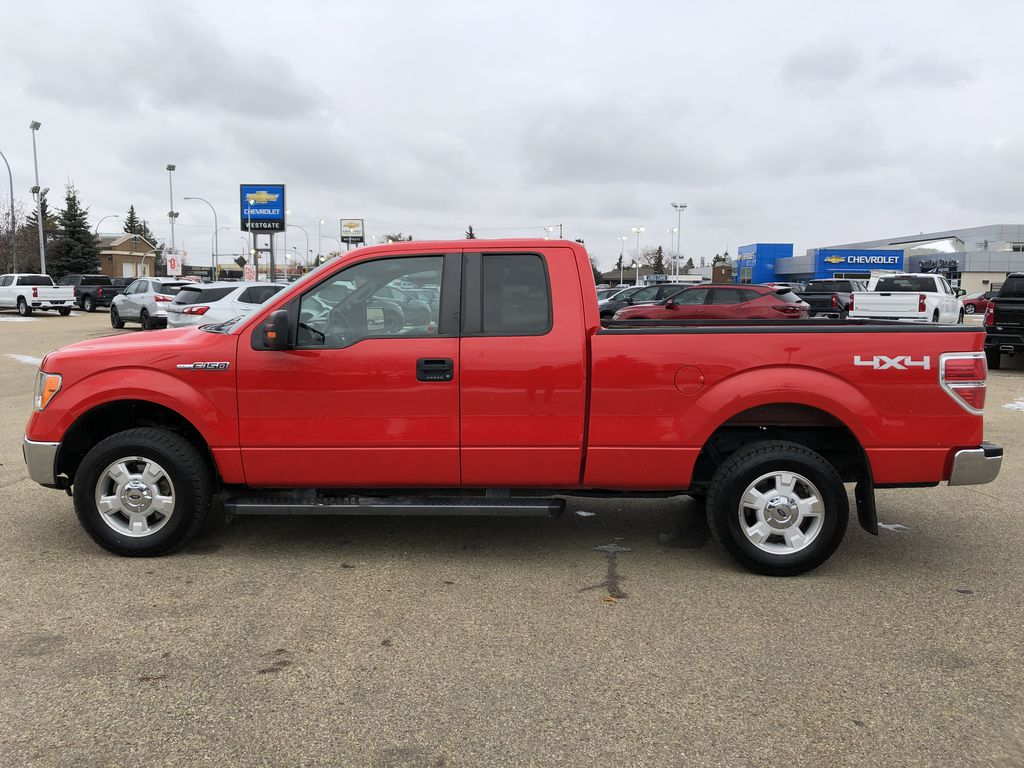 Red[Race Red] 2014 Ford F-150 Left Side Photo in Edmonton AB