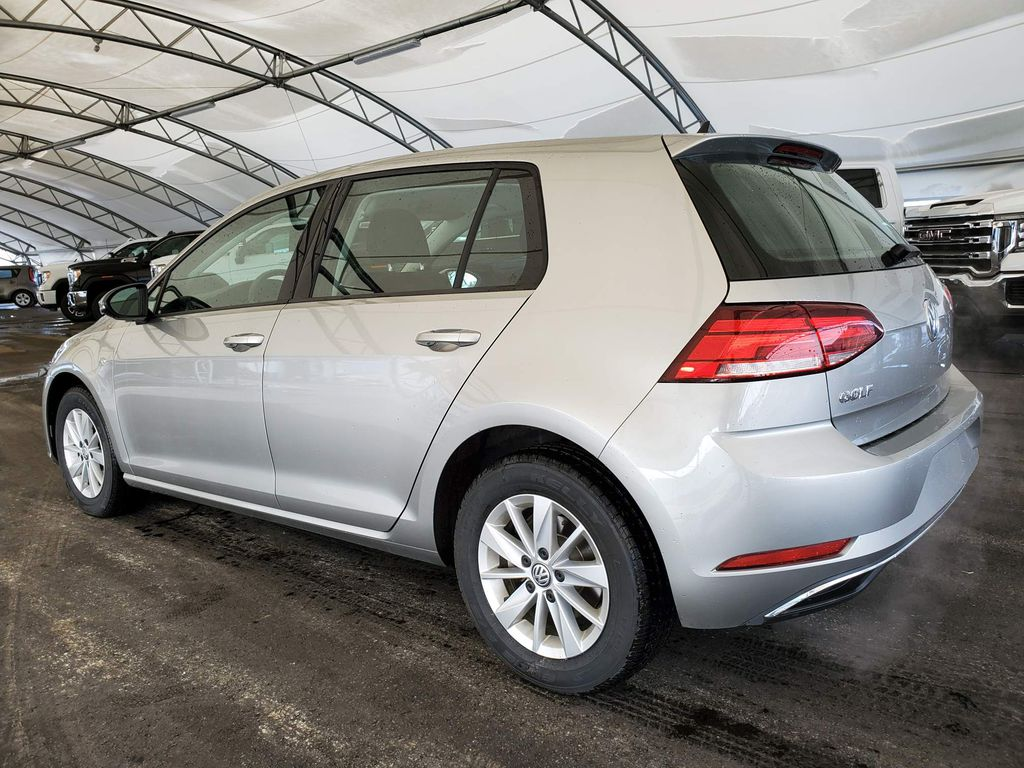 Silver 2019 Volkswagen Golf Navigation Screen Closeup Photo in Airdrie AB