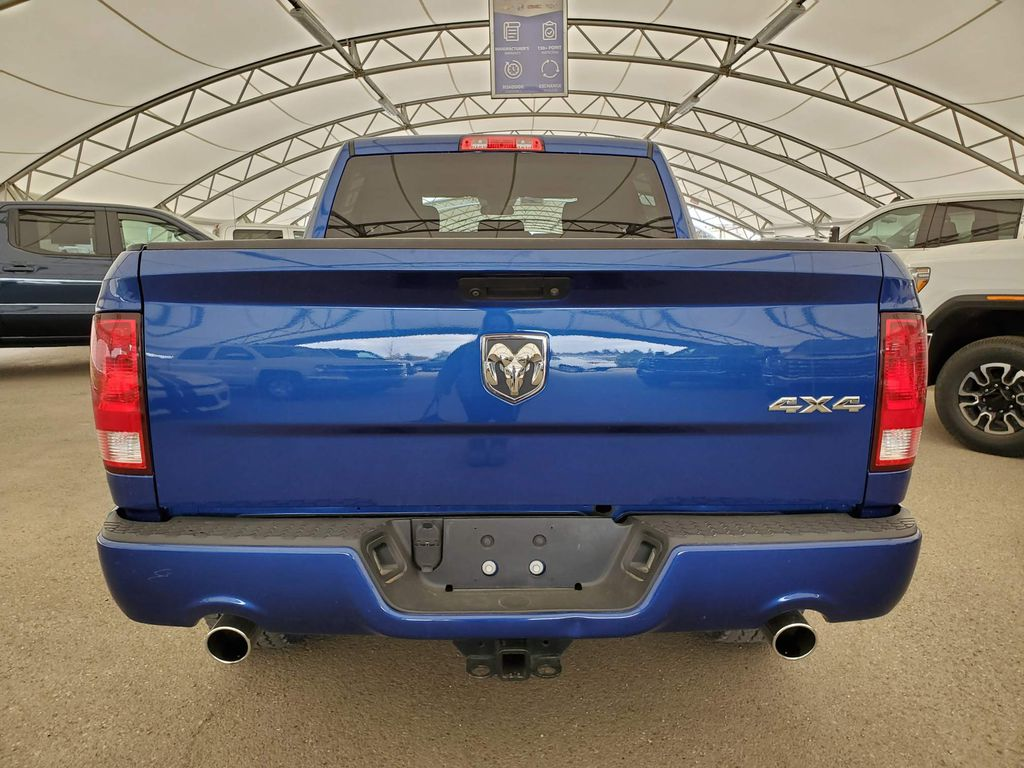 Blue 2018 Ram 1500 Center Console Photo in Airdrie AB