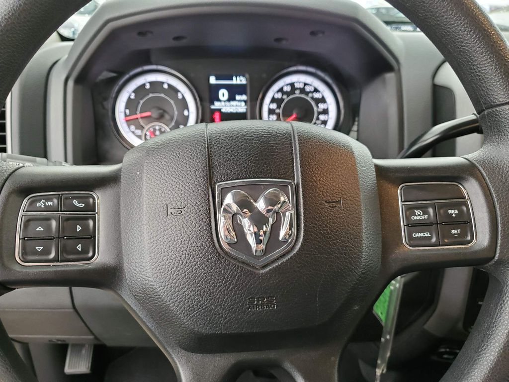 Blue 2018 Ram 1500 Front Vehicle Photo in Airdrie AB