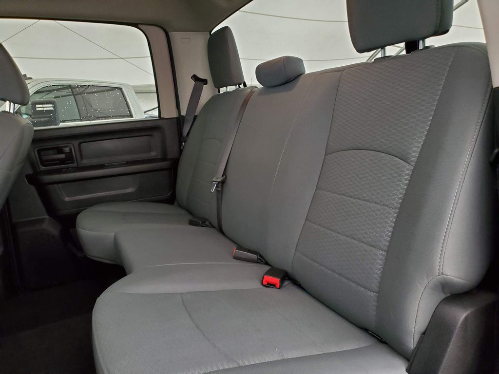 Blue 2018 Ram 1500 Steering Wheel and Dash Photo in Airdrie AB