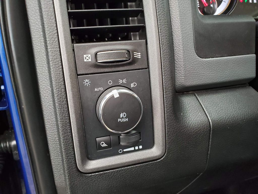 Blue 2018 Ram 1500 Sunroof Photo in Airdrie AB