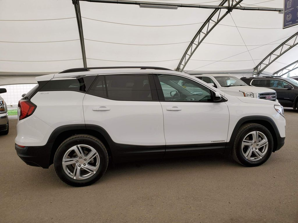 White 2020 GMC Terrain Right Side Rear Seat  Photo in Airdrie AB