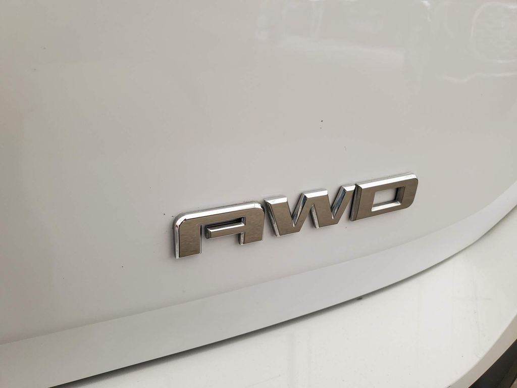 White 2020 GMC Terrain Rear of Vehicle Photo in Airdrie AB