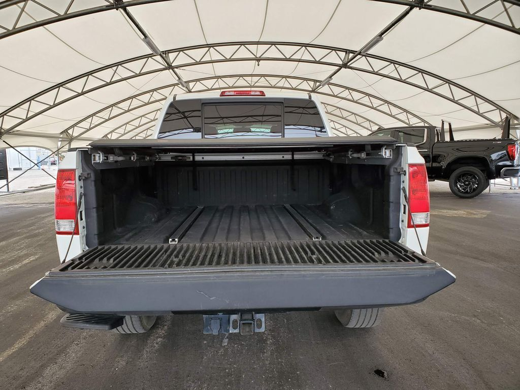 White 2014 Nissan Titan Right Side Rear Seat  Photo in Airdrie AB