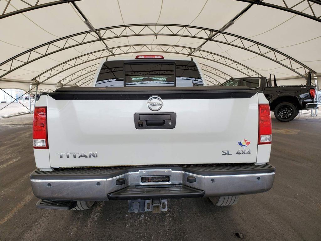 White 2014 Nissan Titan Right Rear Interior Door Panel Photo in Airdrie AB