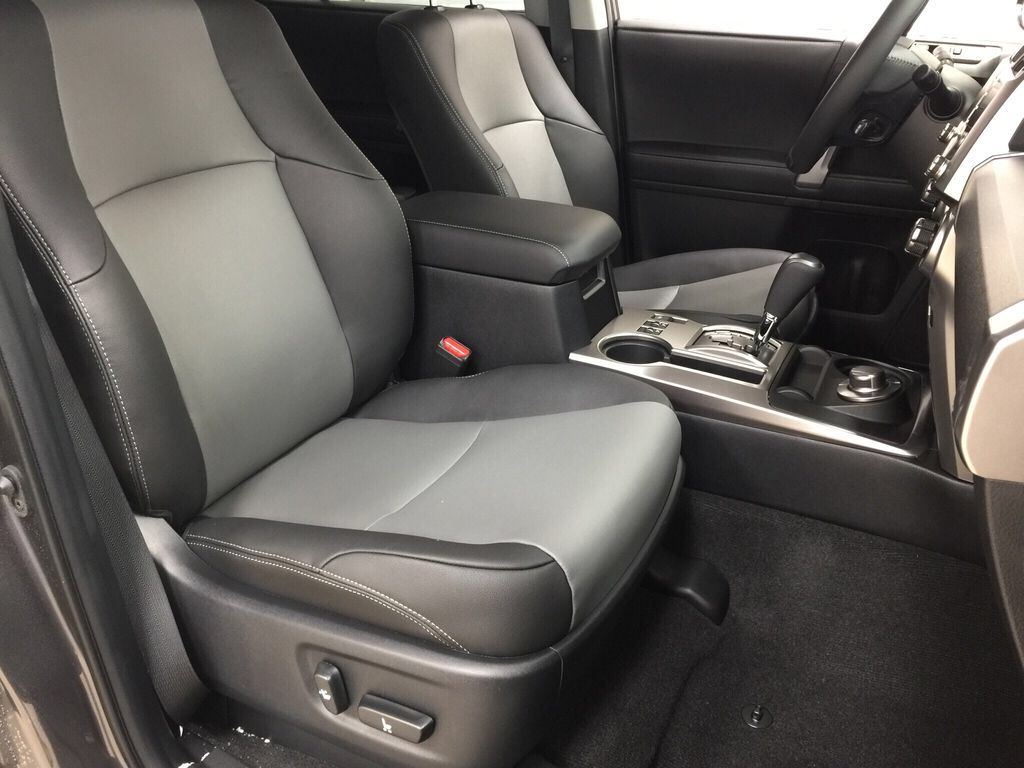 Gray[Magnetic Grey Metallic] 2021 Toyota 4Runner SR5 Right Side Front Seat  Photo in Sherwood Park AB