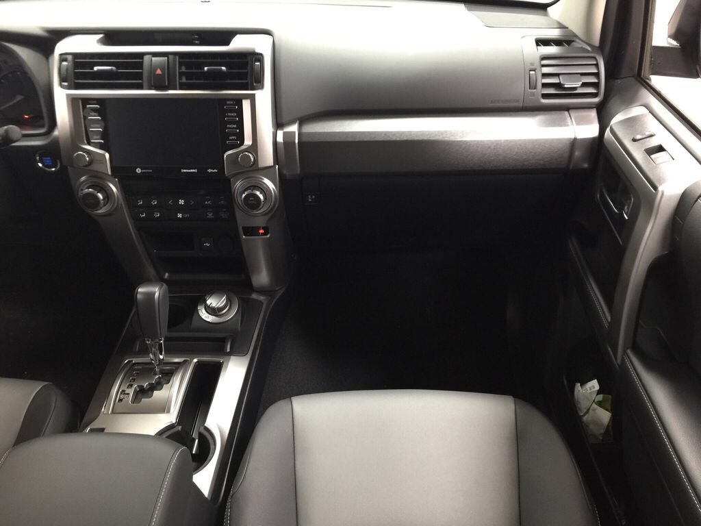 Gray[Magnetic Grey Metallic] 2021 Toyota 4Runner SR5 Right Front Seat Photo in Sherwood Park AB