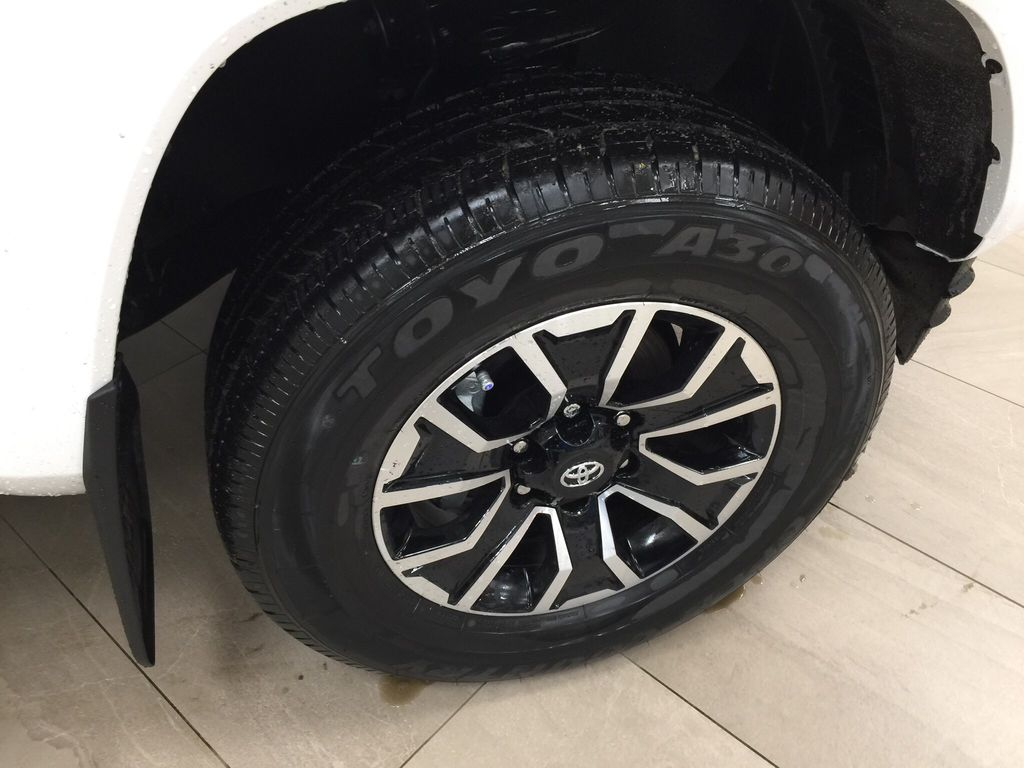 White[Super White] 2020 Toyota Tacoma TRD Sport Right Front Rim and Tire Photo in Sherwood Park AB