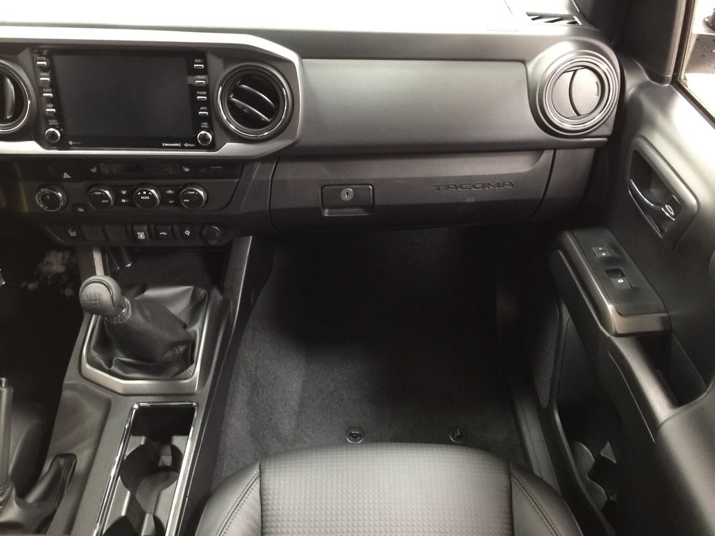 White[Super White] 2020 Toyota Tacoma TRD Sport Right Front Seat Photo in Sherwood Park AB
