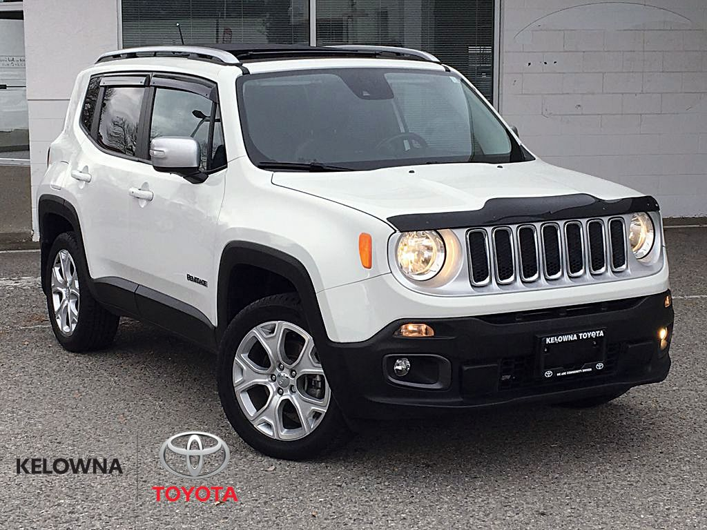 White[Alpine White] 2016 Jeep Renegade Limited