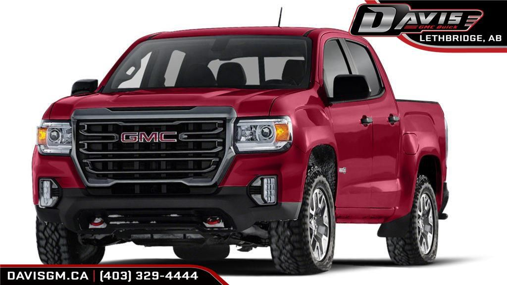 Red 2021 GMC Canyon