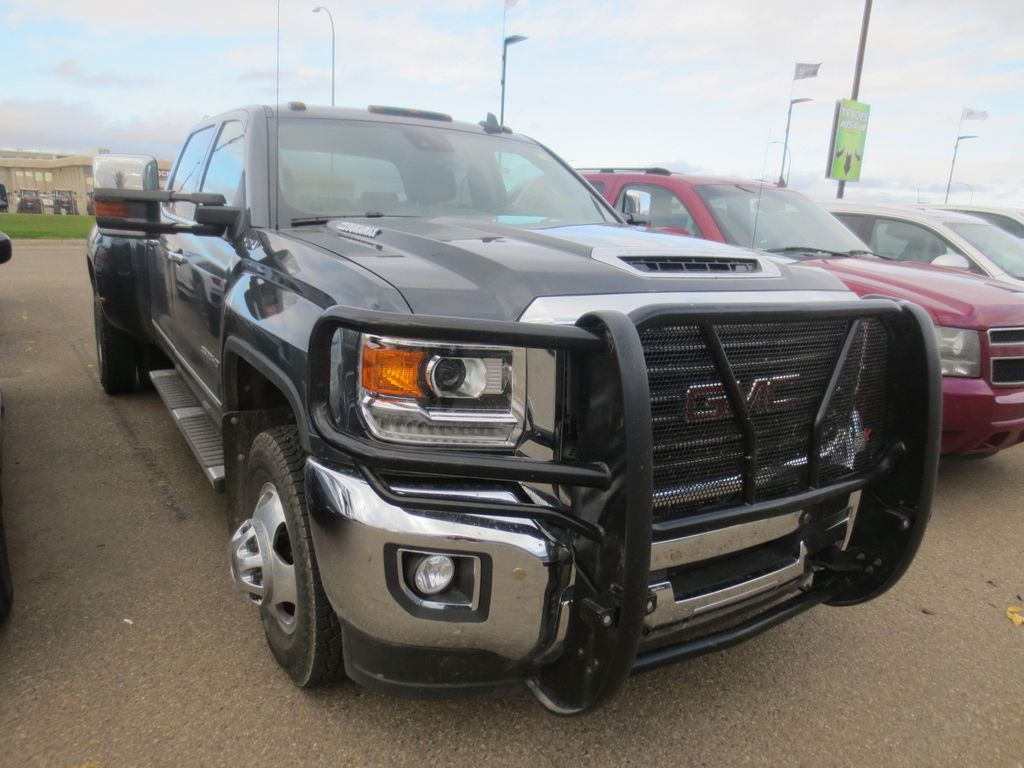 Grey 2018 GMC Sierra 3500HD Left Front Rim and Tire Photo in Lethbridge AB
