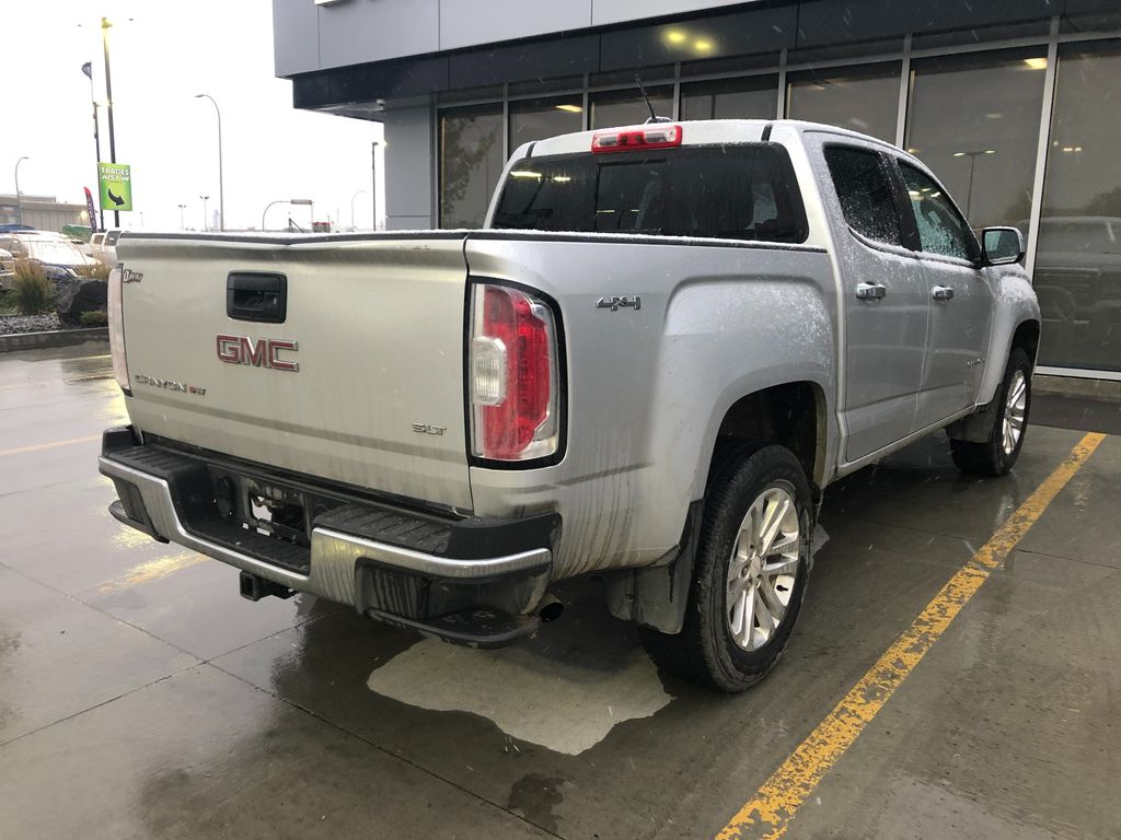 Silver 2017 GMC Canyon Left Front Interior Door Panel Photo in Lethbridge AB