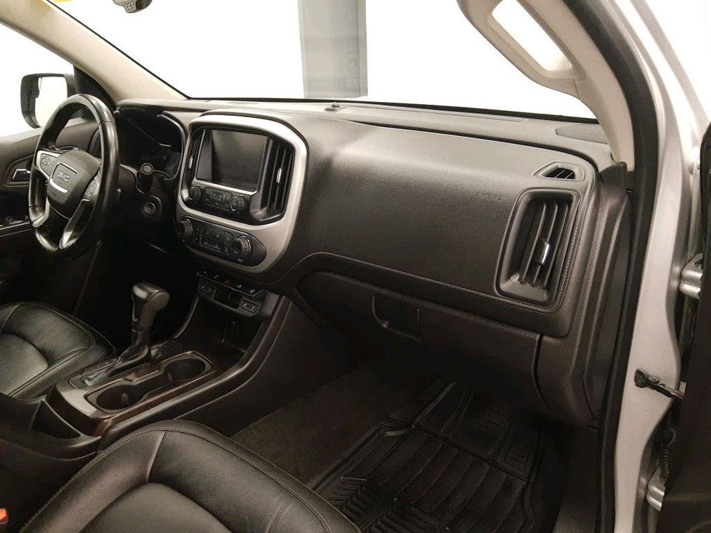 Silver 2017 GMC Canyon Rear of Vehicle Photo in Lethbridge AB