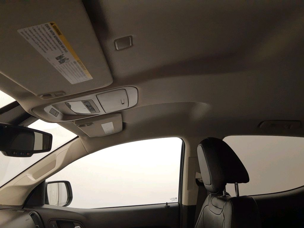 Silver 2017 GMC Canyon Left Side Rear Seat  Photo in Lethbridge AB