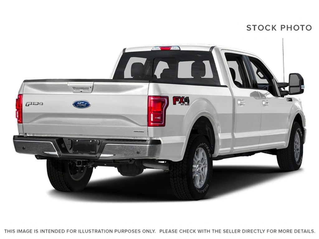 White[Oxford White] 2016 Ford F-150 Right Rear Corner Photo in Fort Macleod AB