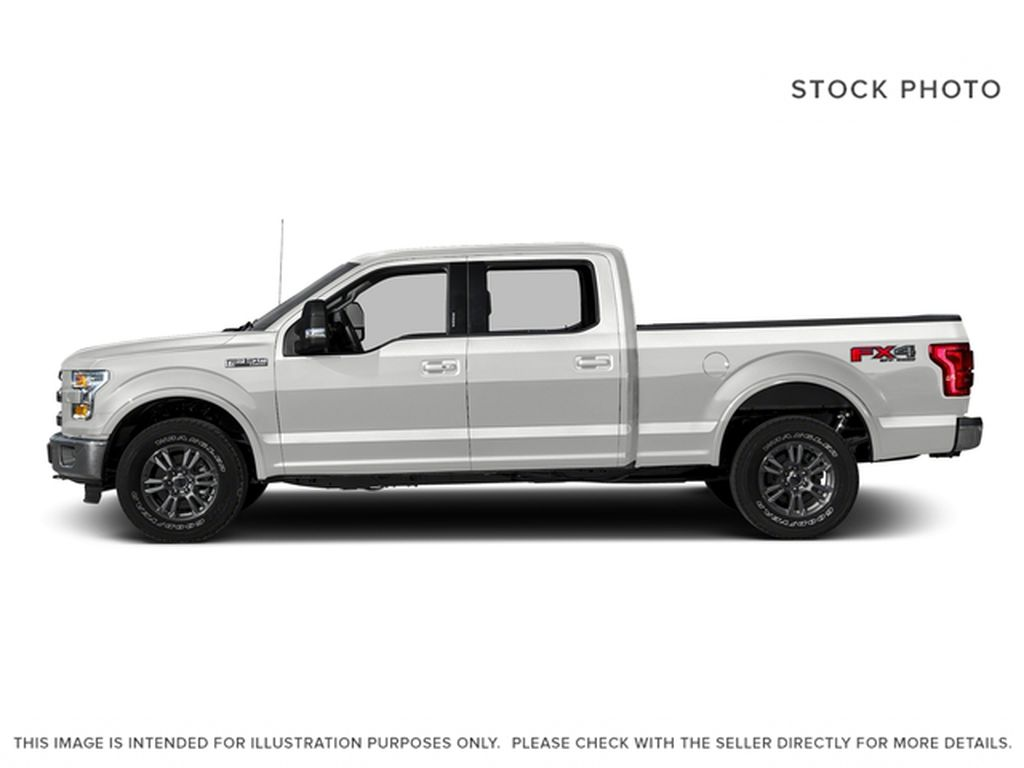 White[Oxford White] 2016 Ford F-150 Left Side Photo in Fort Macleod AB