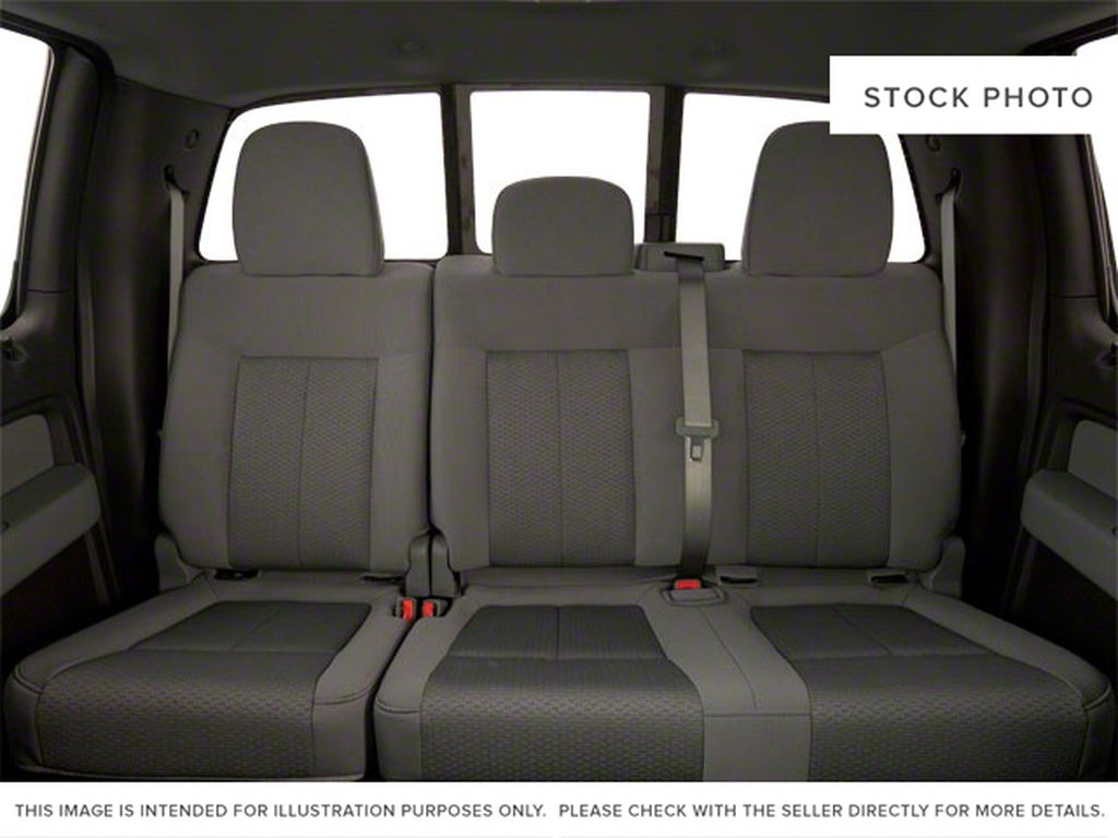 Black[Tuxedo Black] 2012 Ford F-150 Left Side Rear Seat  Photo in Fort Macleod AB
