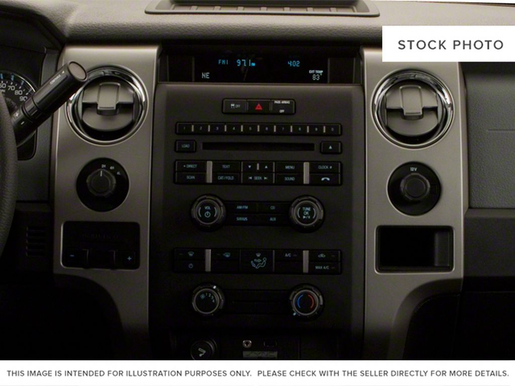 Black[Tuxedo Black] 2012 Ford F-150 Center Console Photo in Fort Macleod AB