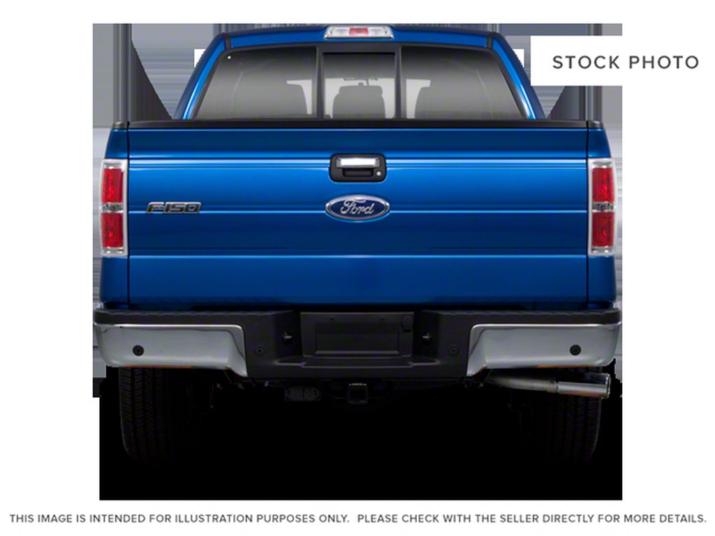 Black[Tuxedo Black] 2012 Ford F-150 Rear of Vehicle Photo in Fort Macleod AB