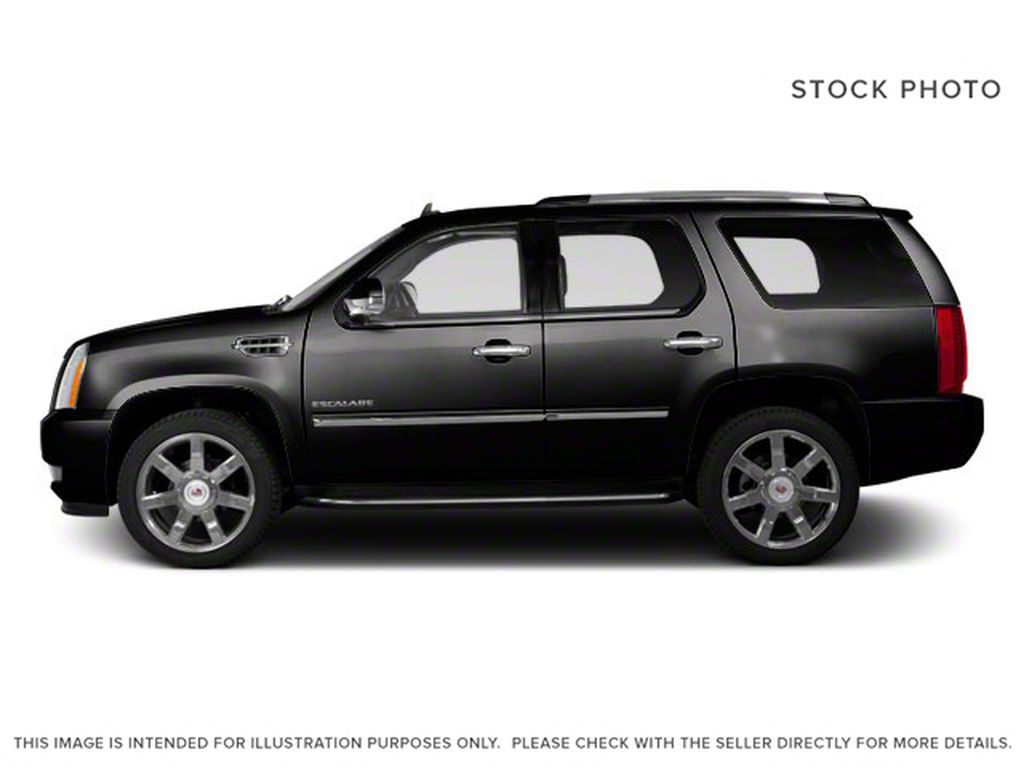 Black[Black Ice Metallic] 2011 Cadillac Escalade Left Side Photo in Fort Macleod AB