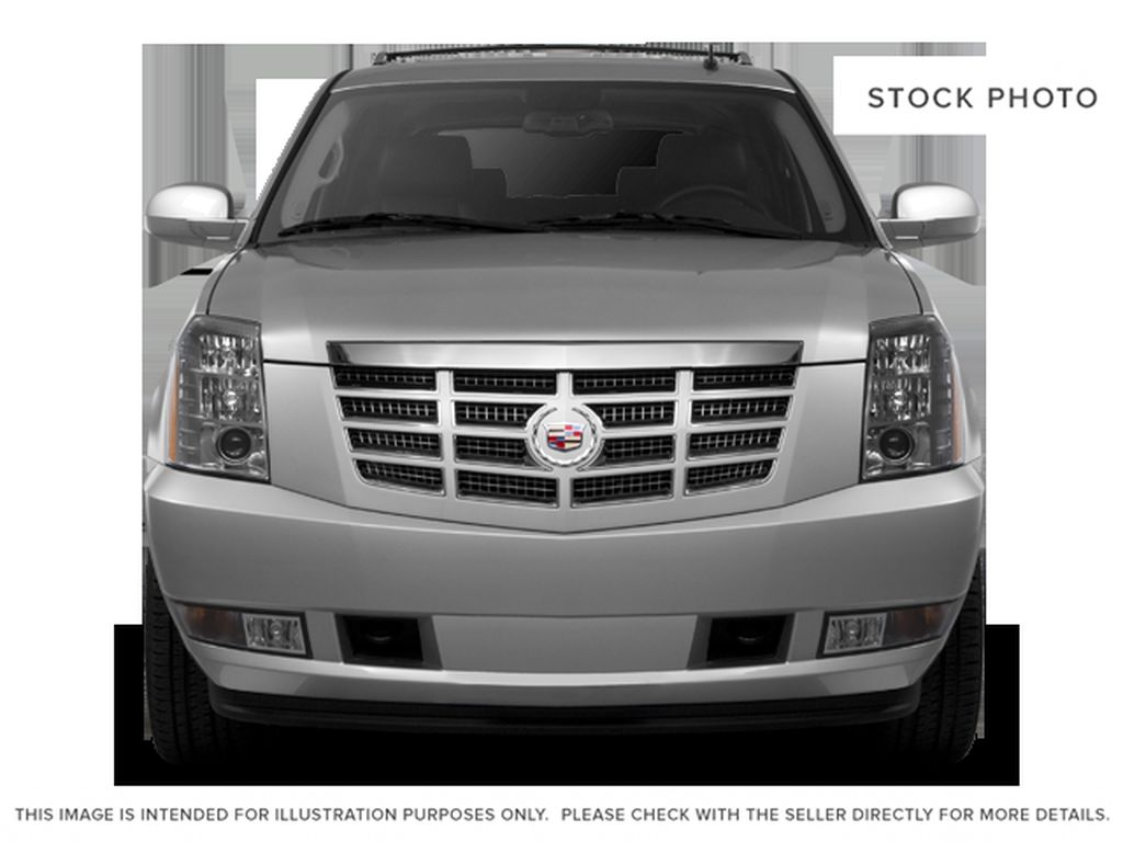 Black[Black Ice Metallic] 2011 Cadillac Escalade Front Vehicle Photo in Fort Macleod AB