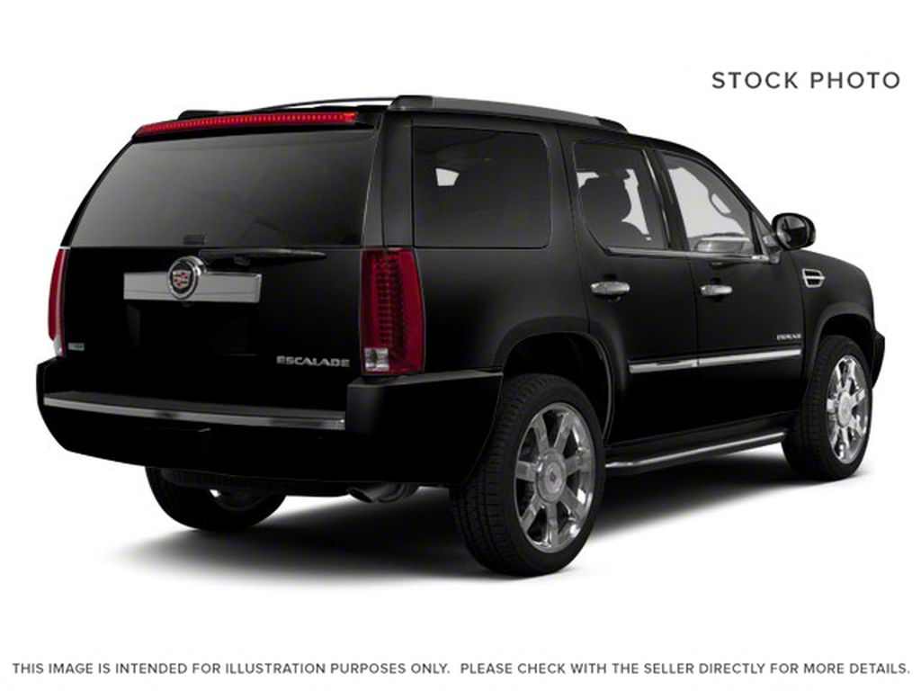 Black[Black Ice Metallic] 2011 Cadillac Escalade Right Rear Corner Photo in Fort Macleod AB