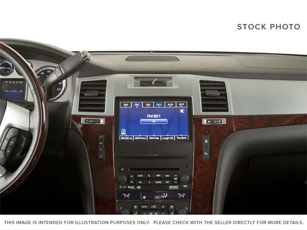Black[Black Ice Metallic] 2011 Cadillac Escalade Central Dash Options Photo in Fort Macleod AB